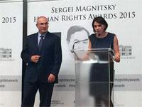 Первым лауреатом премии имени Сергея Магнитского стал Борис Немцов